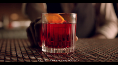 Campari Red Passion - Sound design and voice - Global and italian campaign